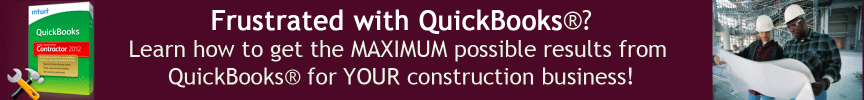 Learn to use QuickBooks in your construction business