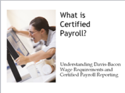Certified Payroll training webinar