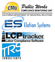 electronically file your certified payroll reports with LCPtracker, TRS Consultants, Elation Systems, California Labor Compliance Monitoring Unit, MyLCM